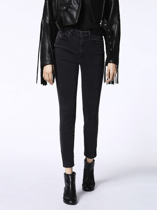 SKINZEE-HIGH 0680I, Black Jeans