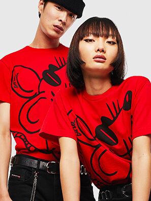 CL-T-DIEGO-2, Red - T-Shirts