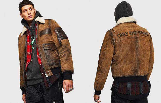 L-OIUKIRO,  - Leather jackets