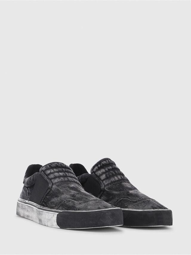 Diesel - S-FLIP ON, Black Jeans - Sneakers - Image 2