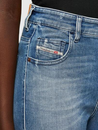 Diesel - Slandy High 009JI, Light Blue - Jeans - Image 3