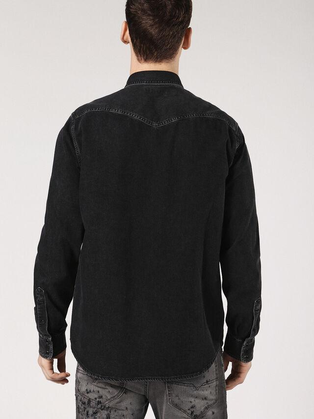Diesel - D-ROOKE, Black Jeans - Denim Shirts - Image 2