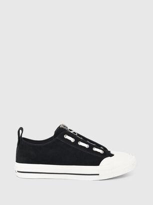 S-ASTICO LZIP, Black - Sneakers