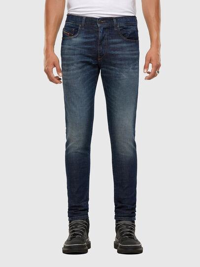 Diesel - D-Strukt 009GQ, Dark Blue - Jeans - Image 1