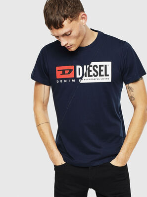 T-DIEGO-CUTY, Dark Blue - T-Shirts