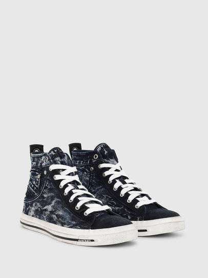 Diesel - EXPOSURE I, Dark Blue - Sneakers - Image 2