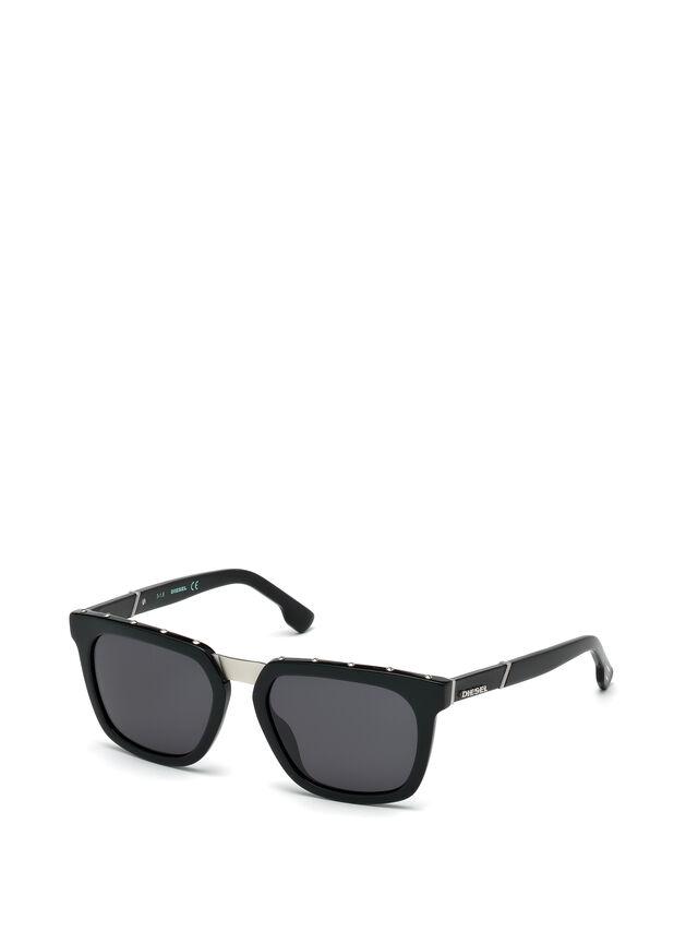 Diesel - DL0212, Black - Sunglasses - Image 4