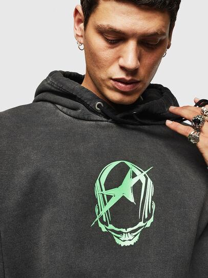 Diesel - S-ALBY-ACID, Black - Sweaters - Image 3