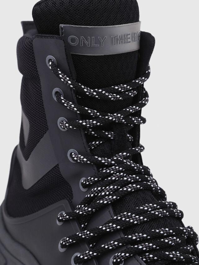 Diesel - S-KIPPER MID LACE, Black - Sneakers - Image 5