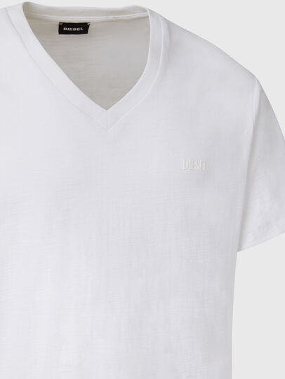 Diesel - T-RANIS-NEW2, White - T-Shirts - Image 3