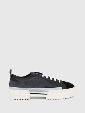 S-MERLEY LOW, Black - Sneakers