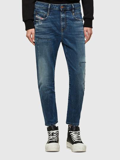 Diesel - Fayza JoggJeans® 069SZ, Dark Blue - Jeans - Image 1