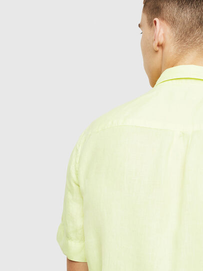 Diesel - S-KIRUMA-B, Yellow Fluo - Shirts - Image 4