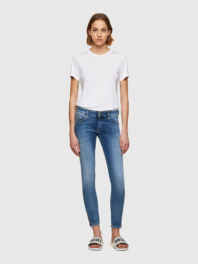 Diesel - Slandy Low 069ST, Light Blue - Jeans - Image 5