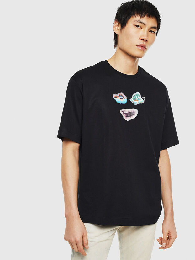 TEORIALE-A, Black - T-Shirts