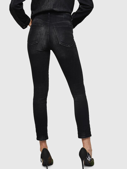 Diesel - Babhila High 0092B, Black/Dark grey - Jeans - Image 2