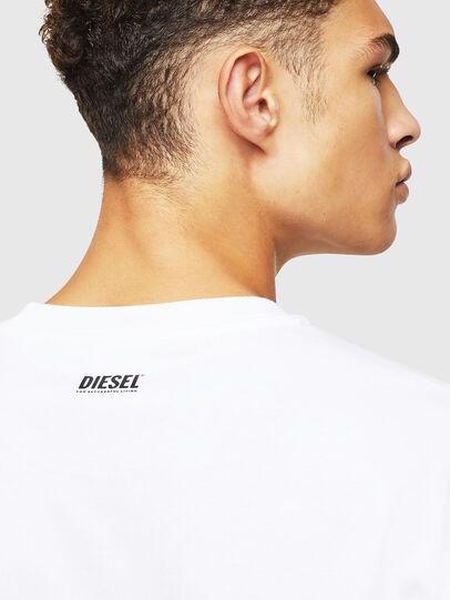 Diesel - T-JUST-J9, White - T-Shirts - Image 4