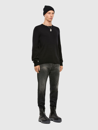 Diesel - D-Vider 009JW, Black/Dark grey - Jeans - Image 5