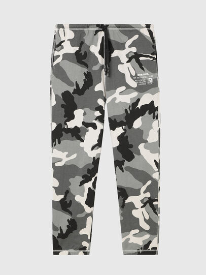 Diesel - UMLB-PETER, Grey/Black - Pants - Image 1