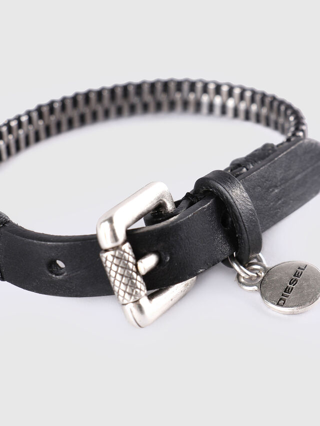 Diesel A-ZIPPER, Black/Silver - Bijoux and Gadgets - Image 2