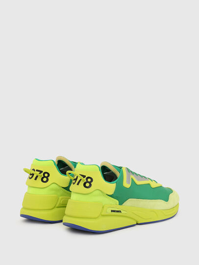 Diesel - S-SERENDIPITY LC, Yellow/Green - Sneakers - Image 3