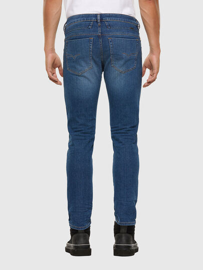 Diesel - D-Bazer 009DB, Medium blue - Jeans - Image 2
