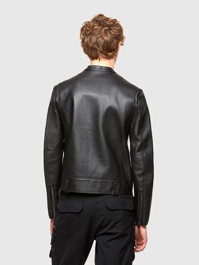 Diesel - L-LIAM, Black - Leather jackets - Image 2