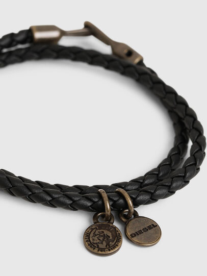 Diesel - ALUCY BRACELET 2, Black - Bijoux and Gadgets - Image 2
