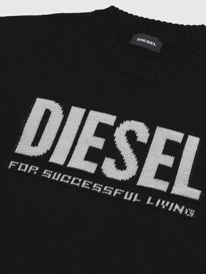 Diesel - KLOGOSX, Black - Knitwear - Image 3