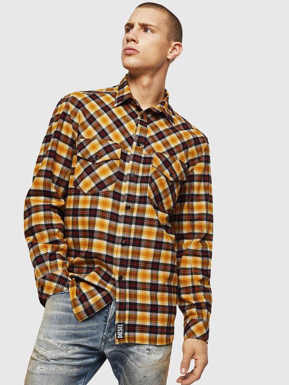 S-TOLSTOJ, Yellow Ocher - Shirts