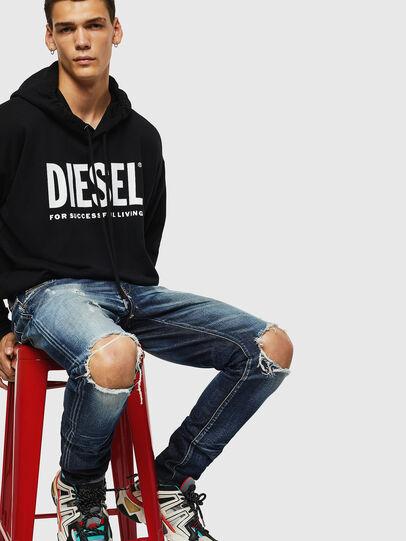 Diesel - D-Strukt 084AD, Medium blue - Jeans - Image 4