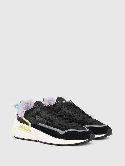 Diesel - S-SERENDIPITY SM W, Black/Violet - Sneakers - Image 2