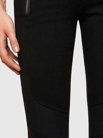 Diesel - P-IKER, Black - Pants - Image 4