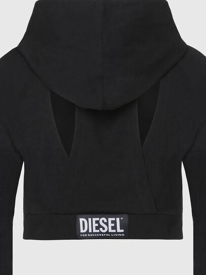Diesel - UFLT-ANGHEL, Black - Sweaters - Image 3