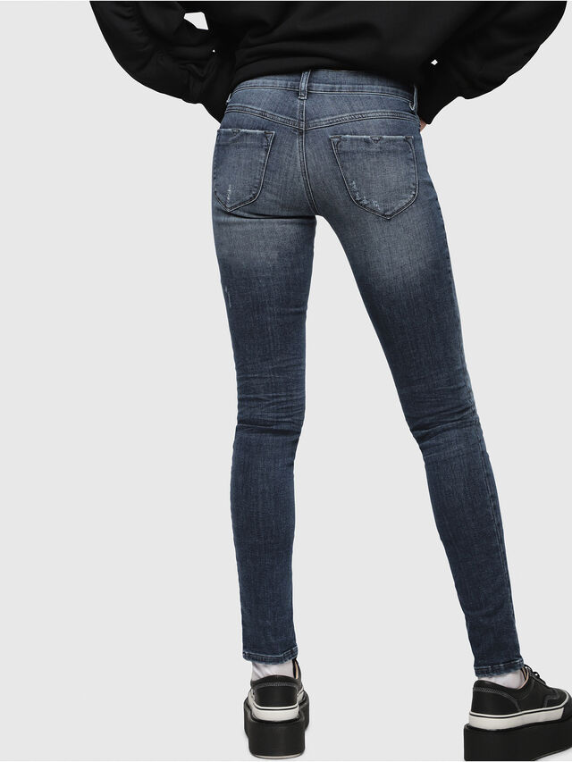 Diesel - Livier 0687L, Dark Blue - Jeans - Image 2