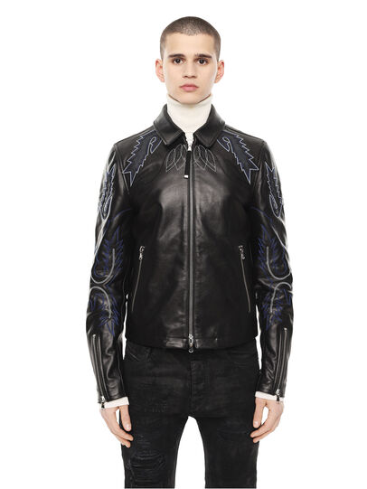 Diesel - LITEX,  - Leather jackets - Image 1