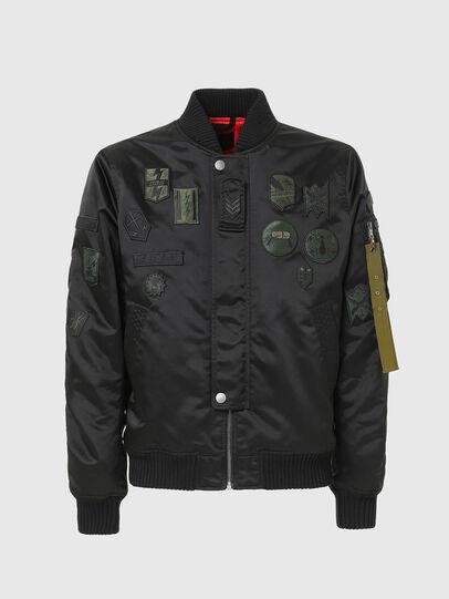 Diesel - W-LOVICH, Black - Jackets - Image 4