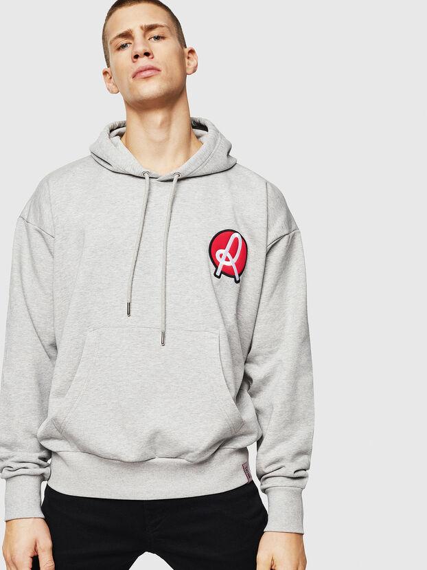 LR-S-GIRK-HOOD-VIC, Grey - Sweaters