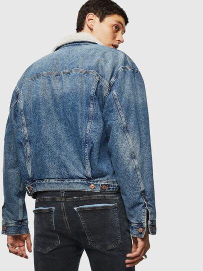 Diesel - D-RESKY, Medium blue - Winter Jackets - Image 2