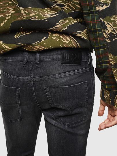 Diesel - Tepphar 082AS, Black/Dark grey - Jeans - Image 4