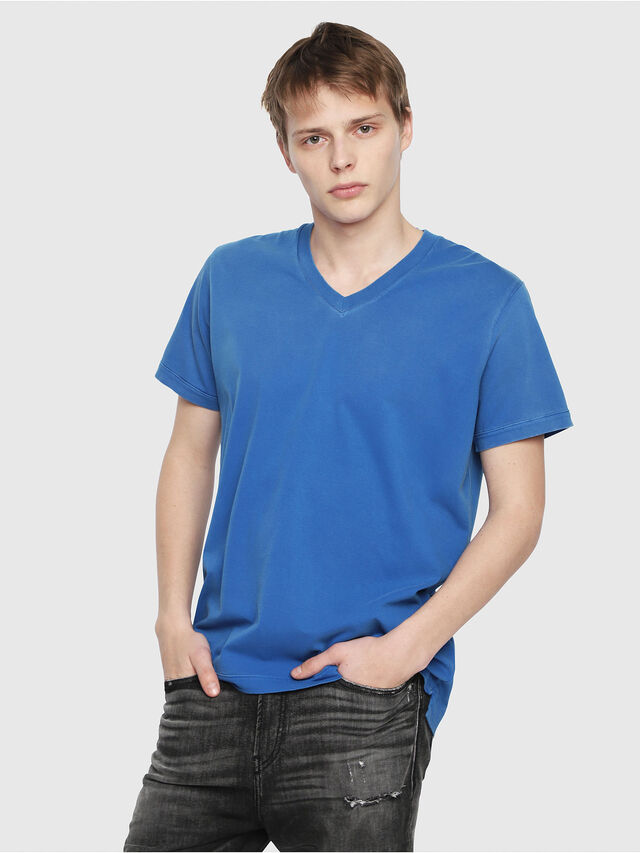Diesel - T-SHOJI, Brilliant Blue - T-Shirts - Image 1