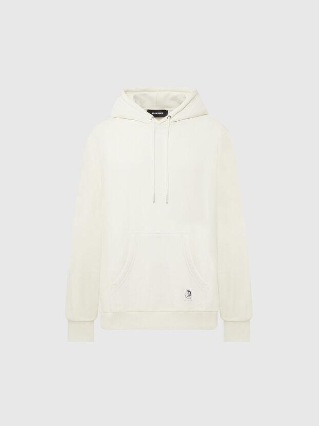 S-GIRK-HOOD-MOHI, White - Sweaters