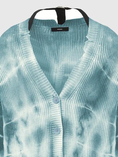 Diesel - M-INDIANA, Blue/White - Knitwear - Image 3