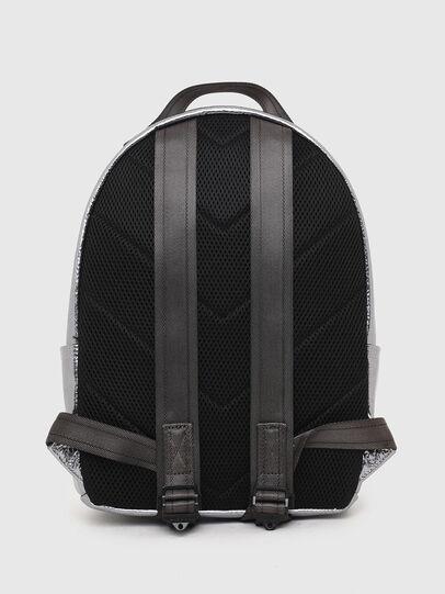 Diesel - F-BOLD BACK FL II, Silver - Backpacks - Image 2