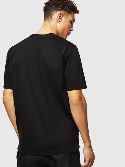 Diesel - T-JUST-POCKET-J1, Black - T-Shirts - Image 2