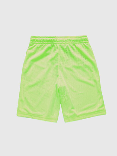 Diesel - PFRAKLE, Green Fluo - Shorts - Image 2