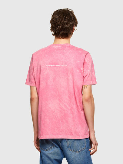 Diesel - T-JUST-E2, Pink - T-Shirts - Image 2