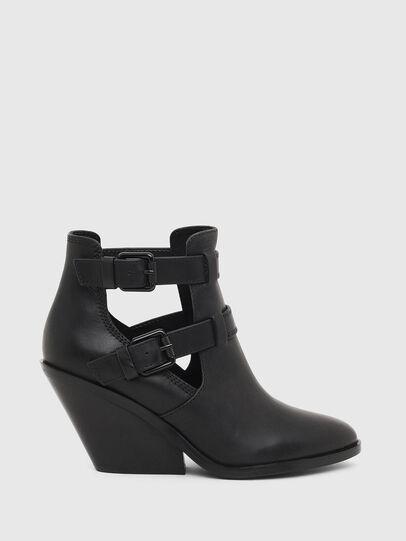 Diesel - D-FLAMINGO OB, Black - Ankle Boots - Image 1