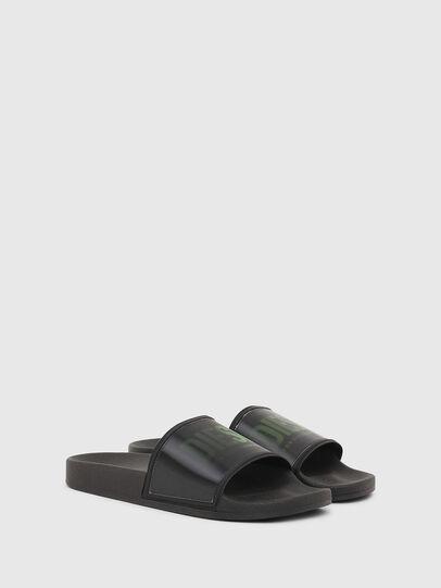 Diesel - SA-VALLA, Black - Slippers - Image 2