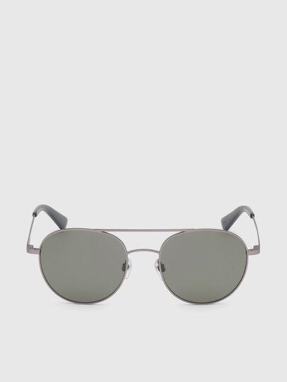 Diesel - DL0286, Dark Beige - Sunglasses - Image 1